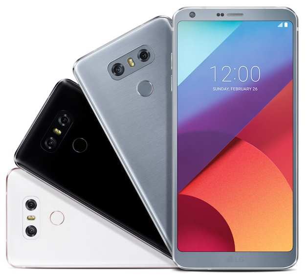 The LG G6 will have 3 color options