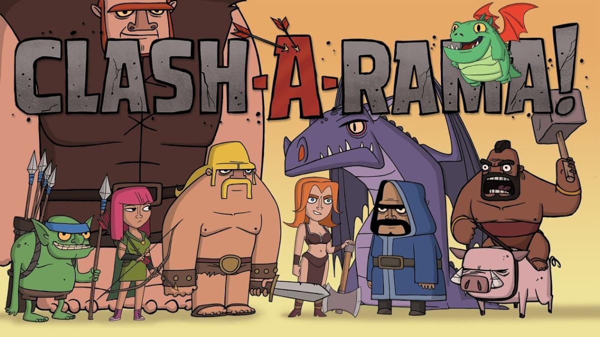 Free TV show – Clash-A-Rama!